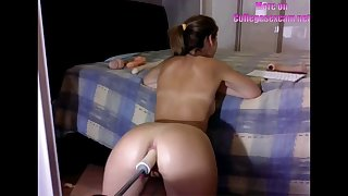 anal fuck machine on college student