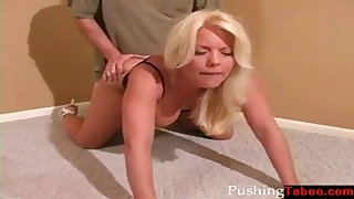 blonde swinger mom fucks own son