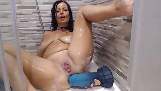 shower anal play