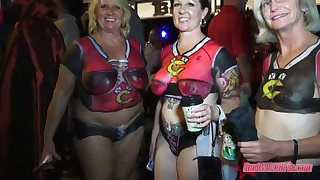 naughty naked flashfest sluts key west